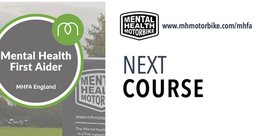 Mental Health First Aid dates: