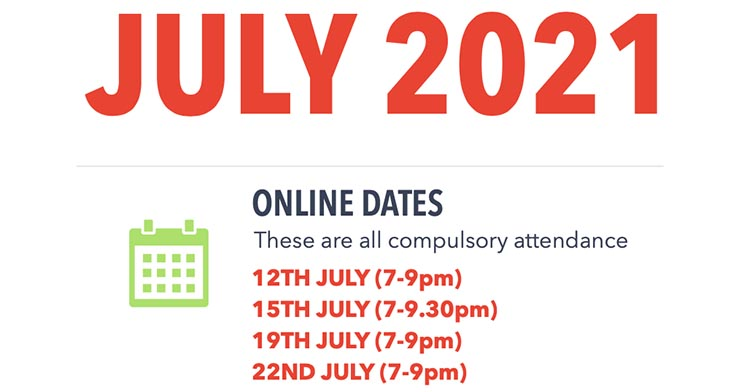 July 2021 – MHFA Course